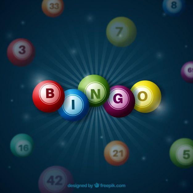 Dark Background With Colorful Bingo Balls Free Bingo Cards Bingo Bingo Cards