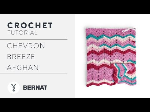 Chevron Crochet Afghan Pattern Tutorial | With The Crochet Crowd