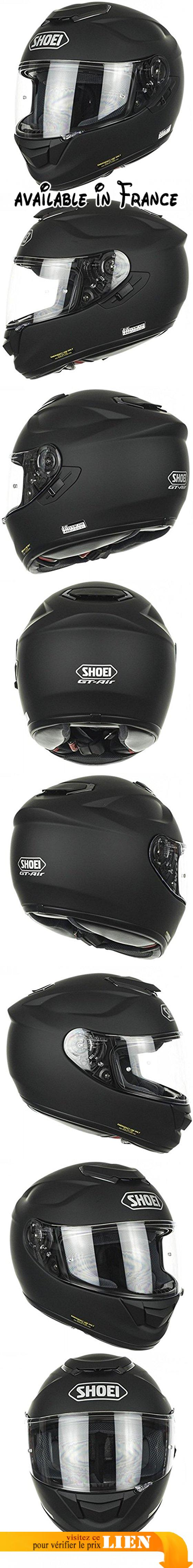 Casque De Moto Shoei Gt Air Matt Black Coque Aim Superposition De