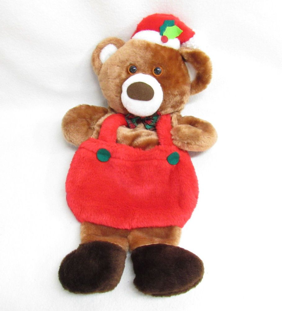 Bear Christmas Stocking.Details About Vintage Santa S Best Teddy Bear Christmas