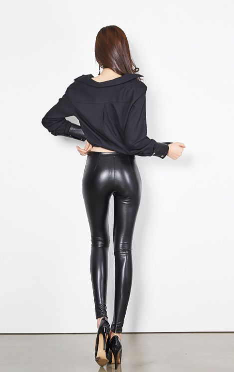 jung yun asian wetlook models pinterest latex shiny leggings and leather. Black Bedroom Furniture Sets. Home Design Ideas