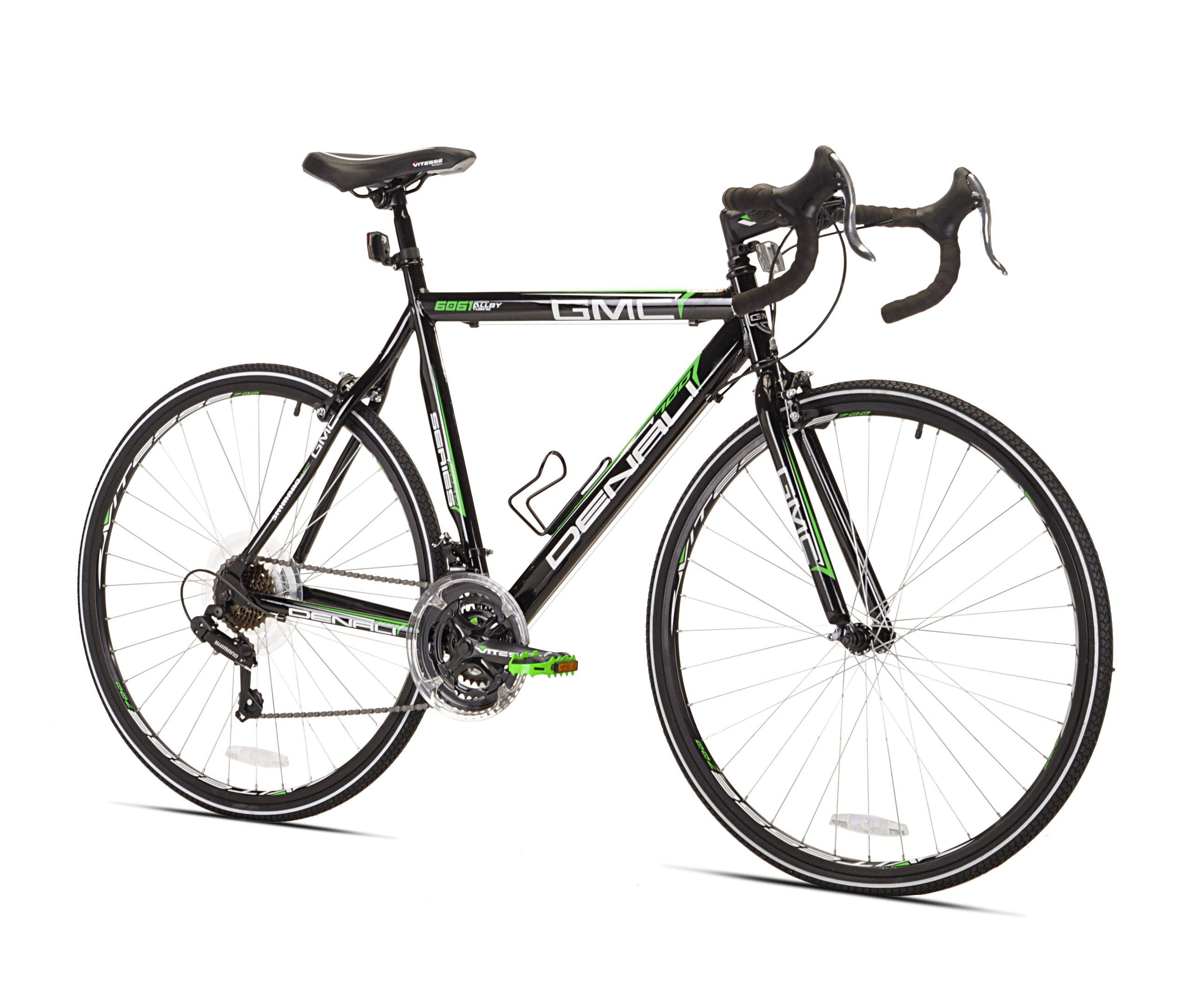 Gmc Denali Road Bike Black Green 22 5 Inch Medium Gmc Denali Sport Fixie