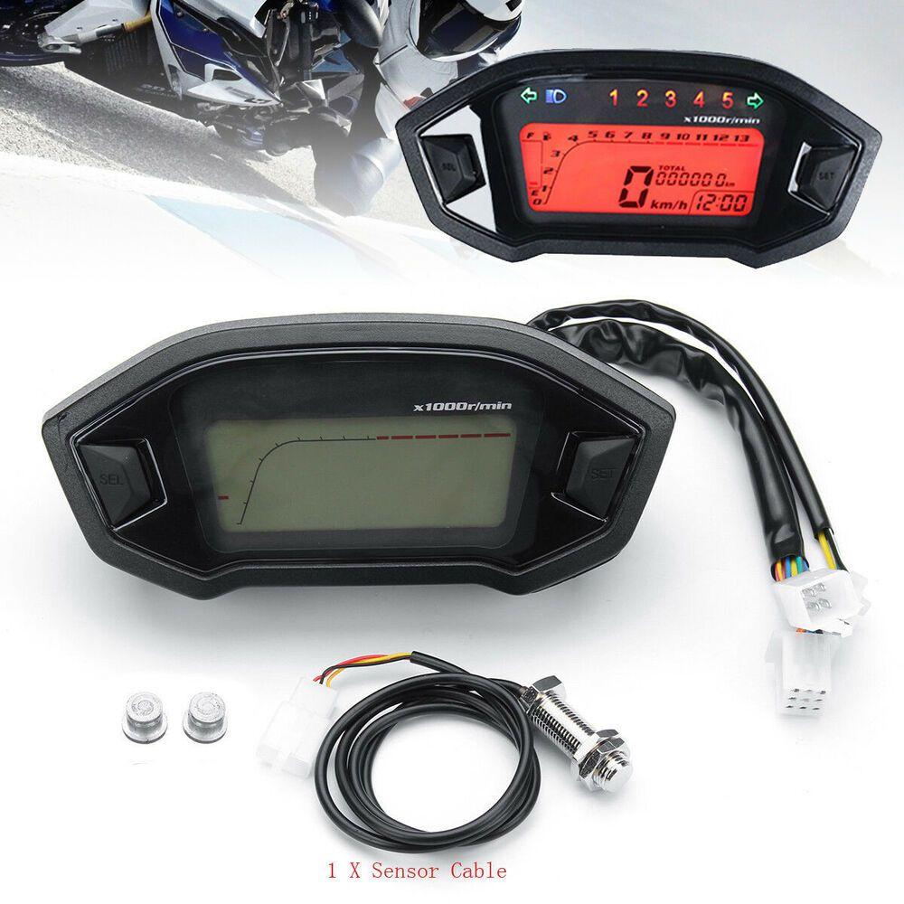 Ebay  Sponsored Universal Lcd Digital Backlight Motorcycle