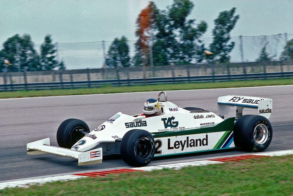 1981 Carlos Alberto Reutemann Arg Albilad Williams Racing Team