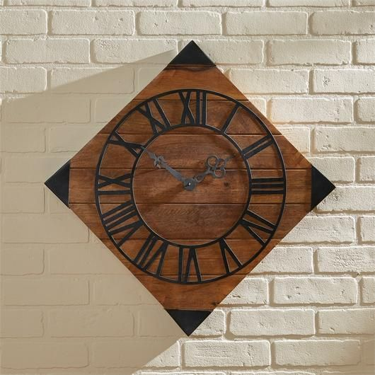 Hogarth Wood Wall Clock