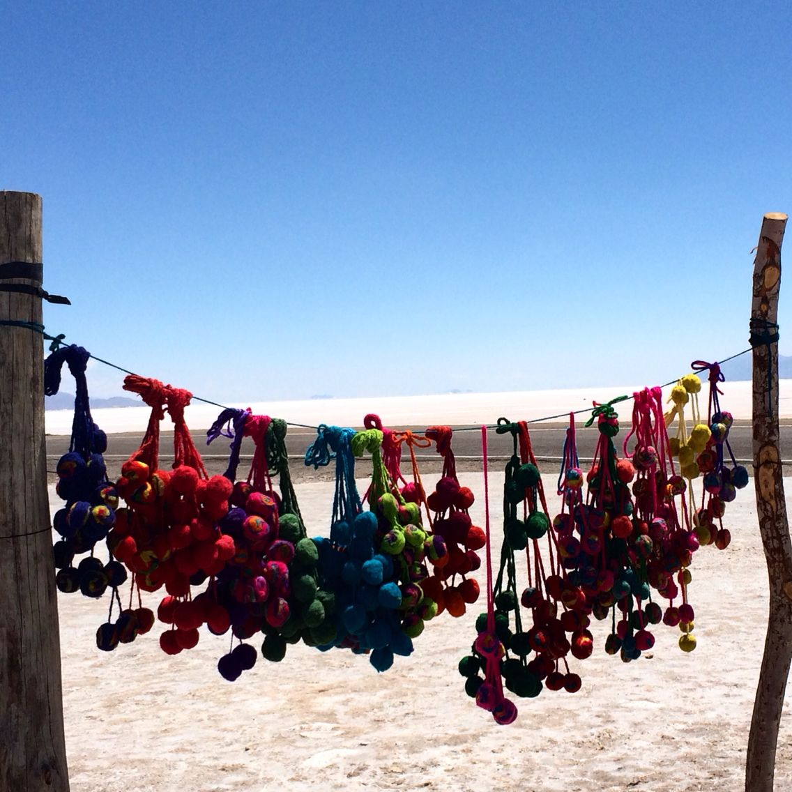 In love with pompons, TULMAS Salinas grandes