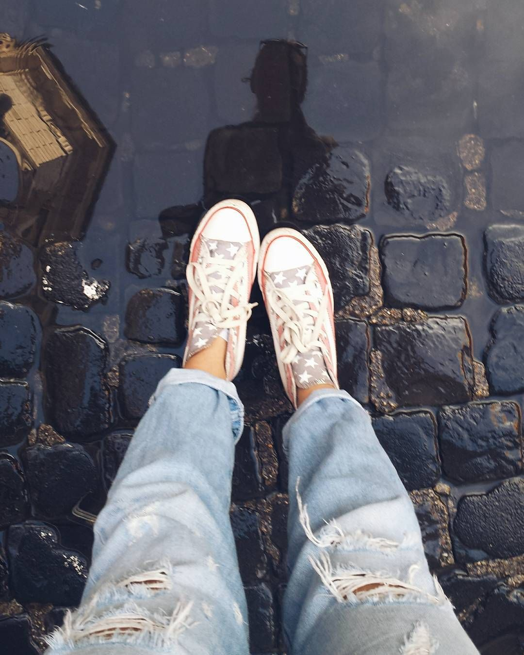 #tourist  in a puddle  #travel #explore #rome #italy by larisa_ngr