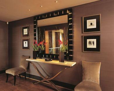 Sala comedor apartamento con espejos buscar con google for Espejos originales para entrada