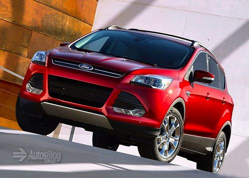 Ford Kuga Escape 2013 Front 1024x732 Ford Motores Diseno Automotriz