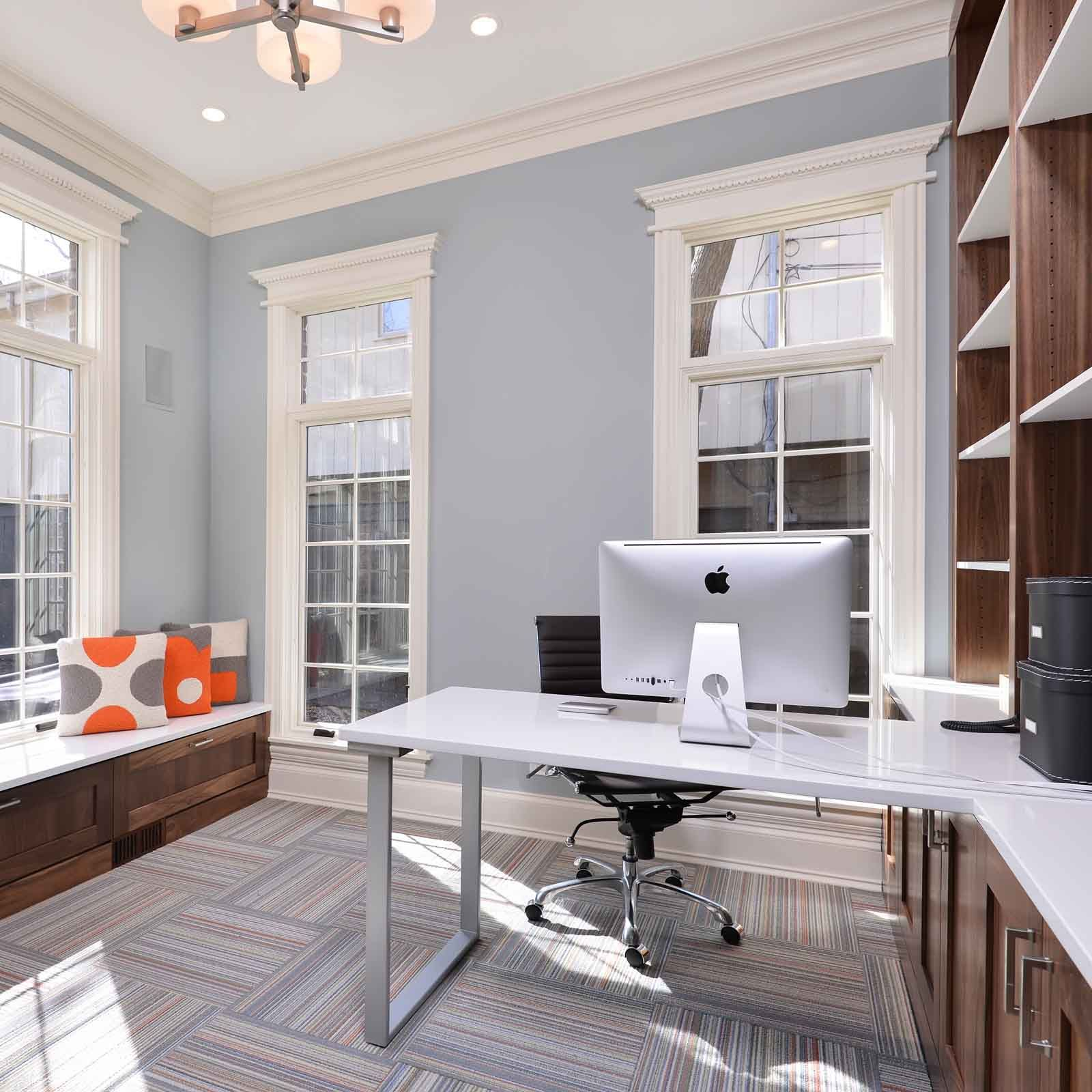 airy office digs by amy may of may designs interior designer based