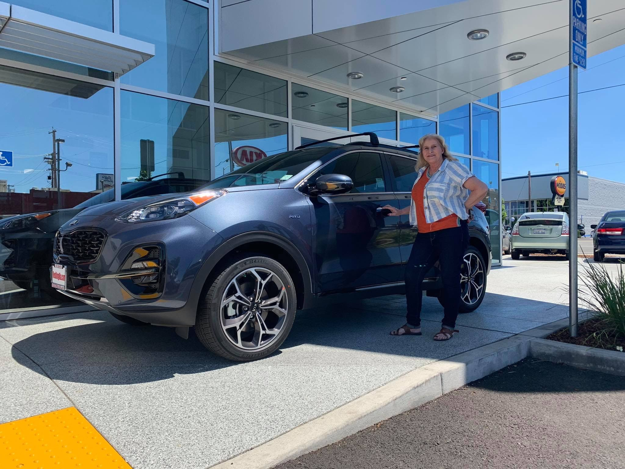 Congratulations Donetta Sergeeff On Your Brand New 2020 Kia Sportage With The Turbo Thank You So Much For Your Continued Business Kia Sportage Kia Sportage