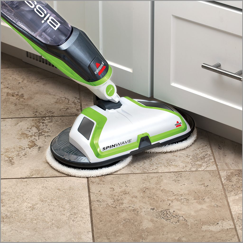 bissell spinwave powered hard floor mop
