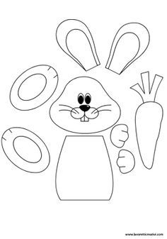 photo about Printable Easter Crafts titled Easter craft Cost-free printable Easter Crafts, Bunny Crafts