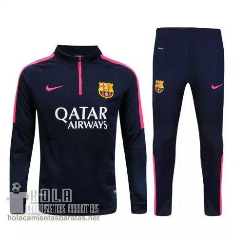 Nike Chaqueta 1 4 Zip Azul Marino Barcelona 2015 €33.0  8e22fb5e18411