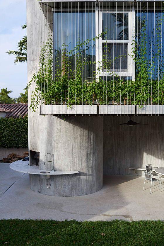 Christian Wassmann Cosmic Modernist Architecture Exterior Green Architecture Green Facade