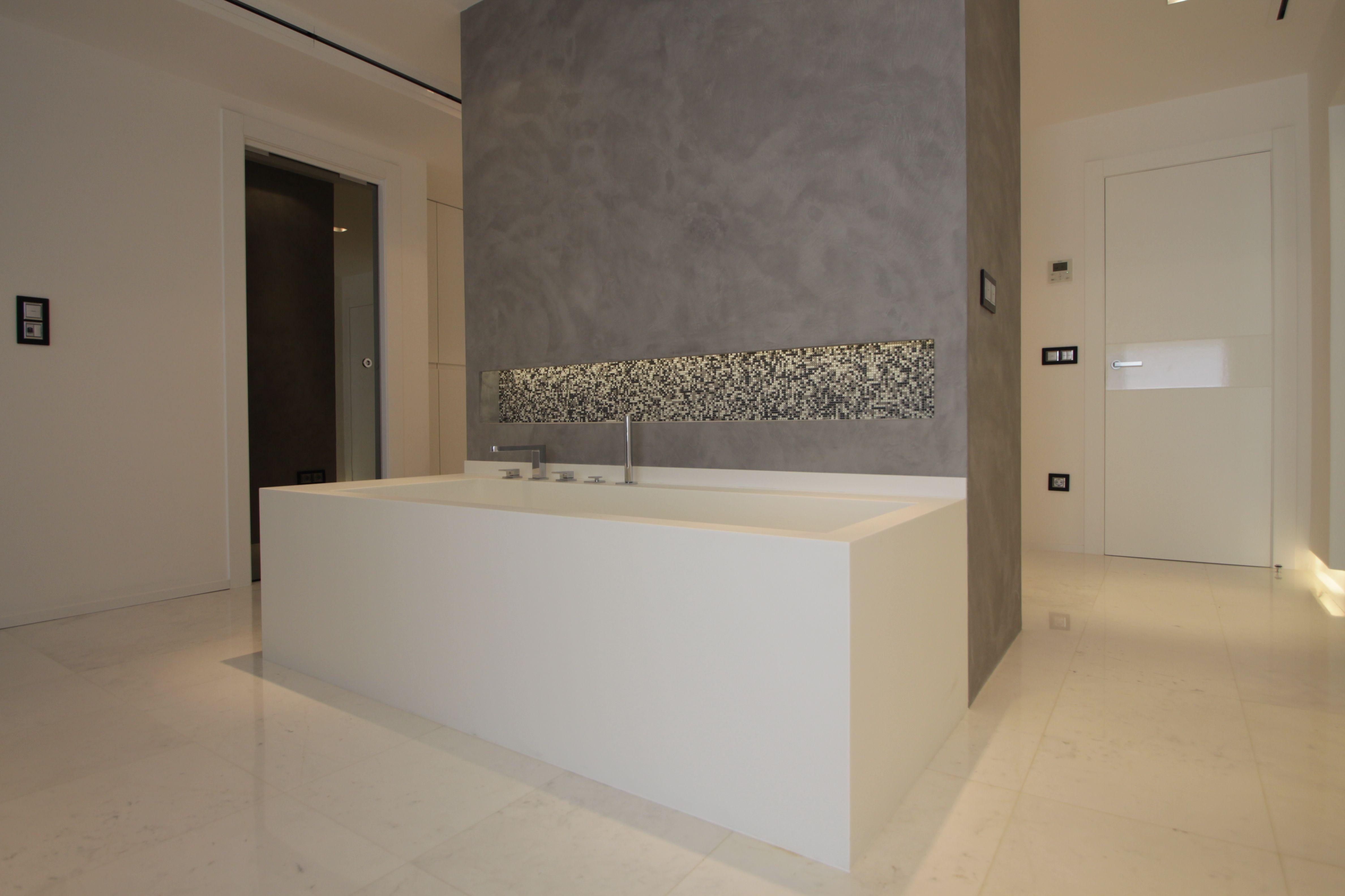 Baño completo. | Microcemento, Baños, Cuarto de baño