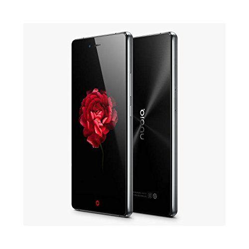 """ZTE Nubia Z9 Max 5.5"""" Qualcomm Snapdragon 615 Octa Core con 2GB RAM + 16GB ROM, cámara frontal de 8MP y trasera de 16MP NEGRO"""