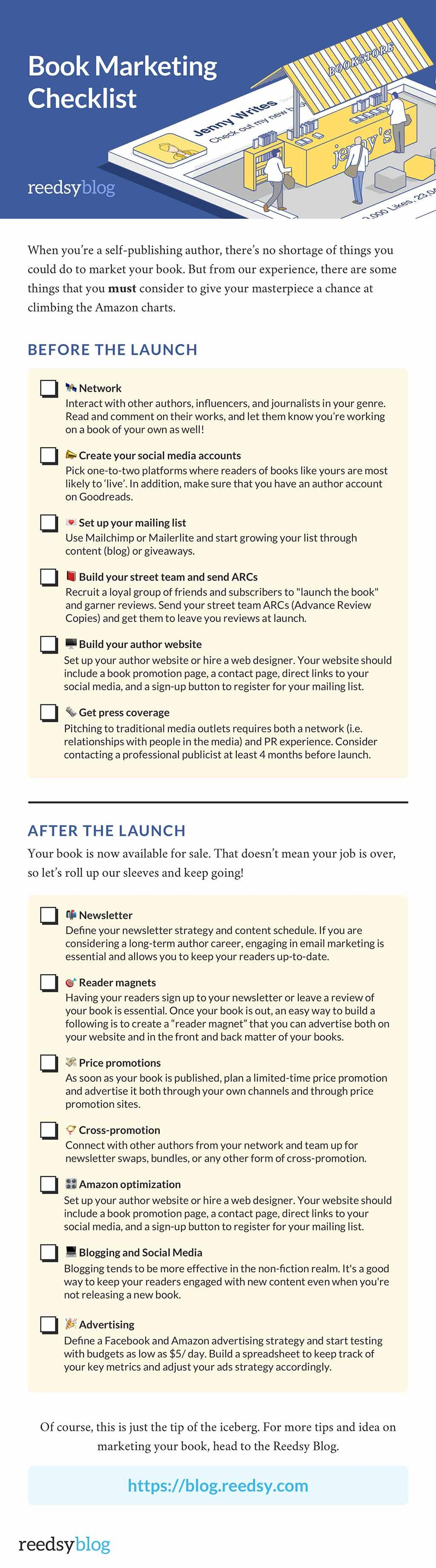 50 Book Marketing Ideas To Crush Your Book Launch
