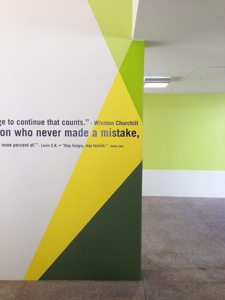 Paint idea | Wall | Pinterest | Paint ideas, Walls and Office designs