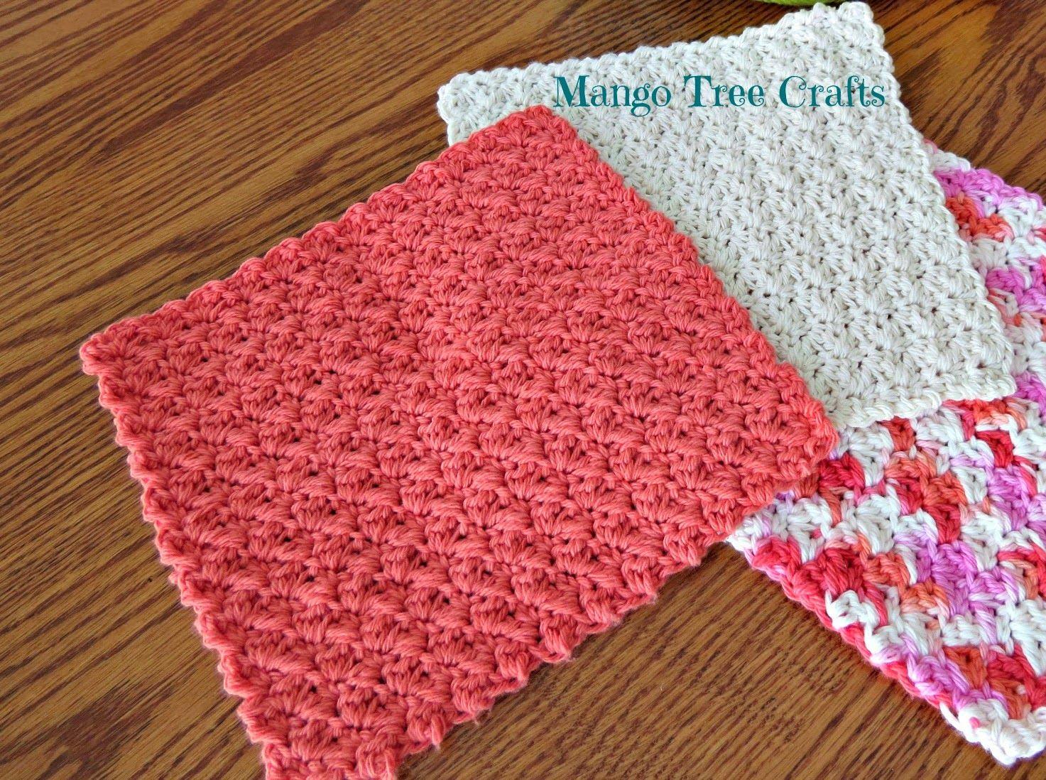 Mango tree crafts free crochet patterns crochet dish wash free crochet dishcloth pattern this crochet dishcloth pattern is so simple yet beautiful it uses three basic crochet stitches ch dt1010fo