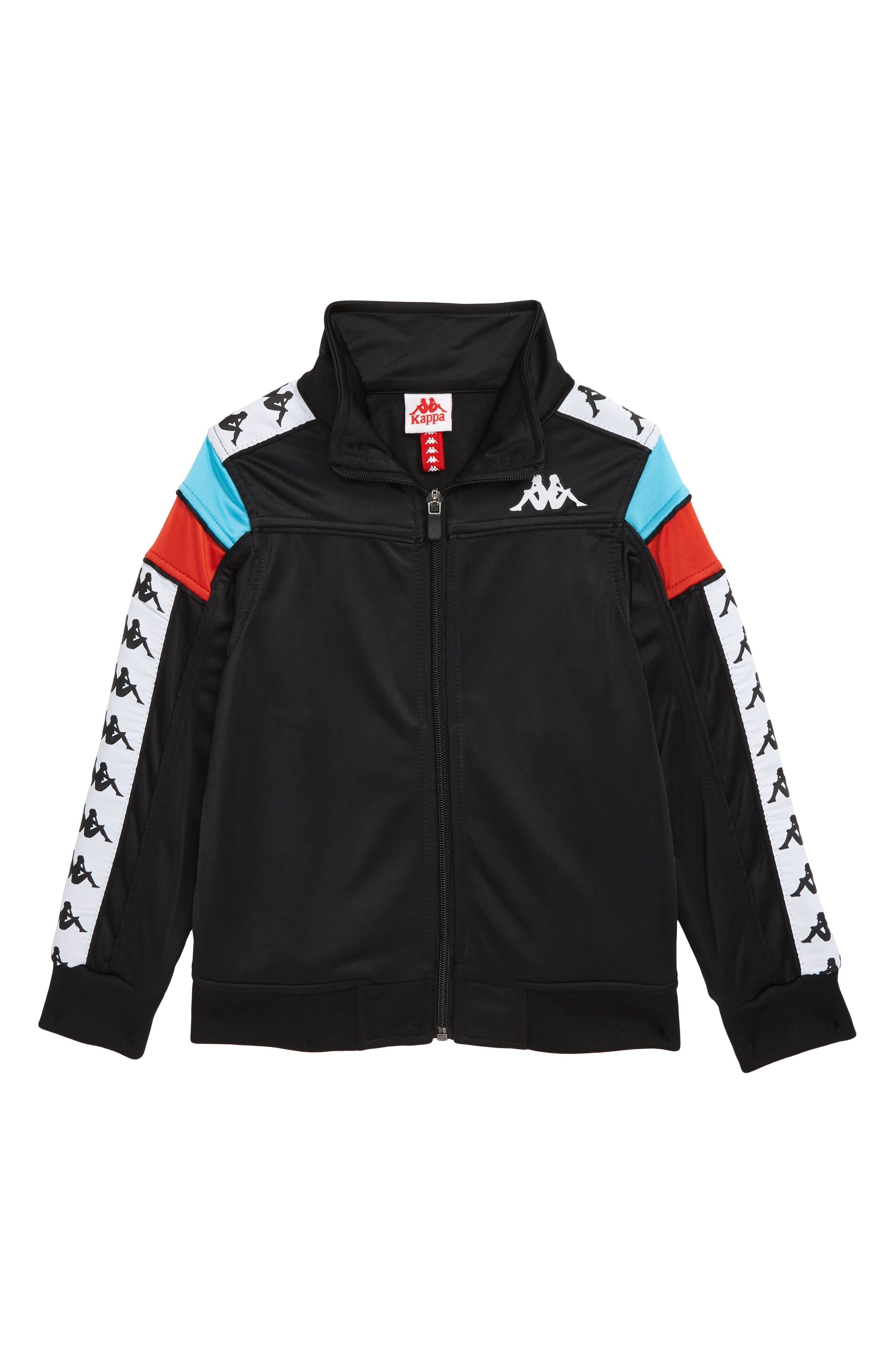 Kappa Banda Merez Slim Track Jacket Toddler Little Boy Big Boy Nordstrom Track Jackets Kappa Clothing Jackets [ 4048 x 2640 Pixel ]