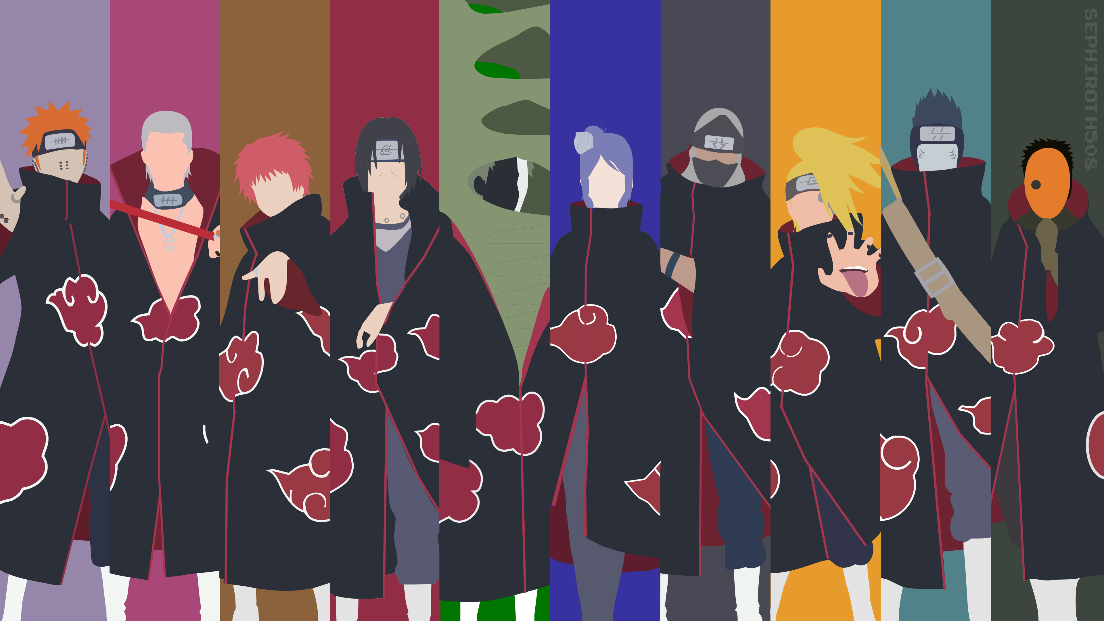 Pin de onlymyflower em Naruto Deidara wallpaper