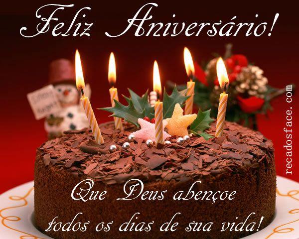 Mensagem De Aniversario Para Facebook: Feliz Aniversário - Mensagens Para Facebook …