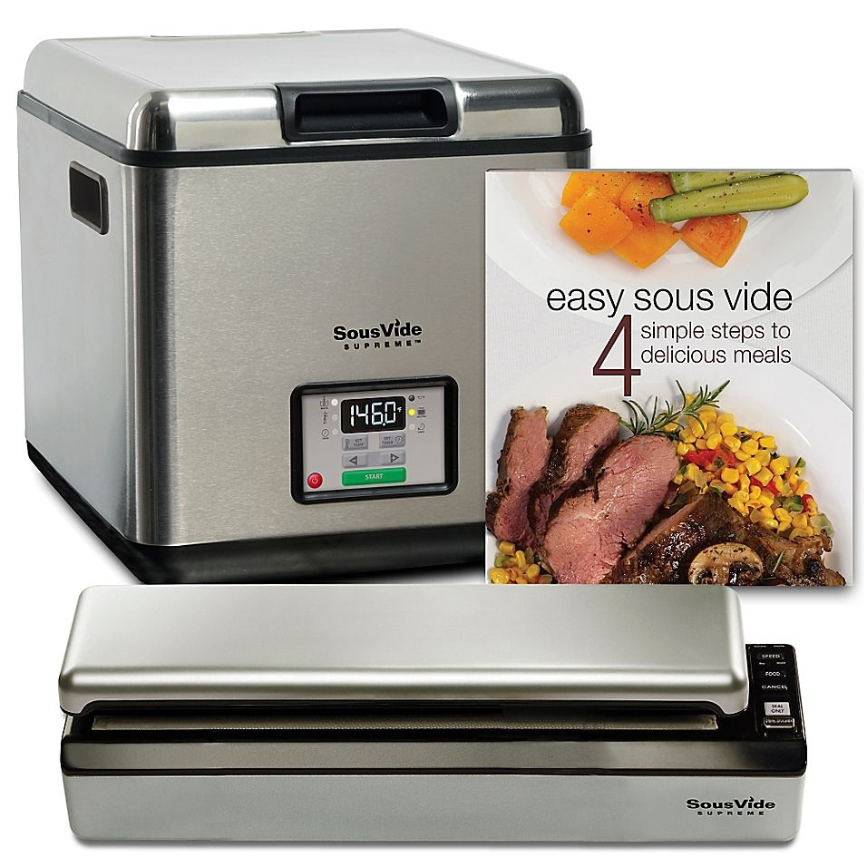 Sousvide Supreme 11 Liter Water Oven System Stainless Steel Sous