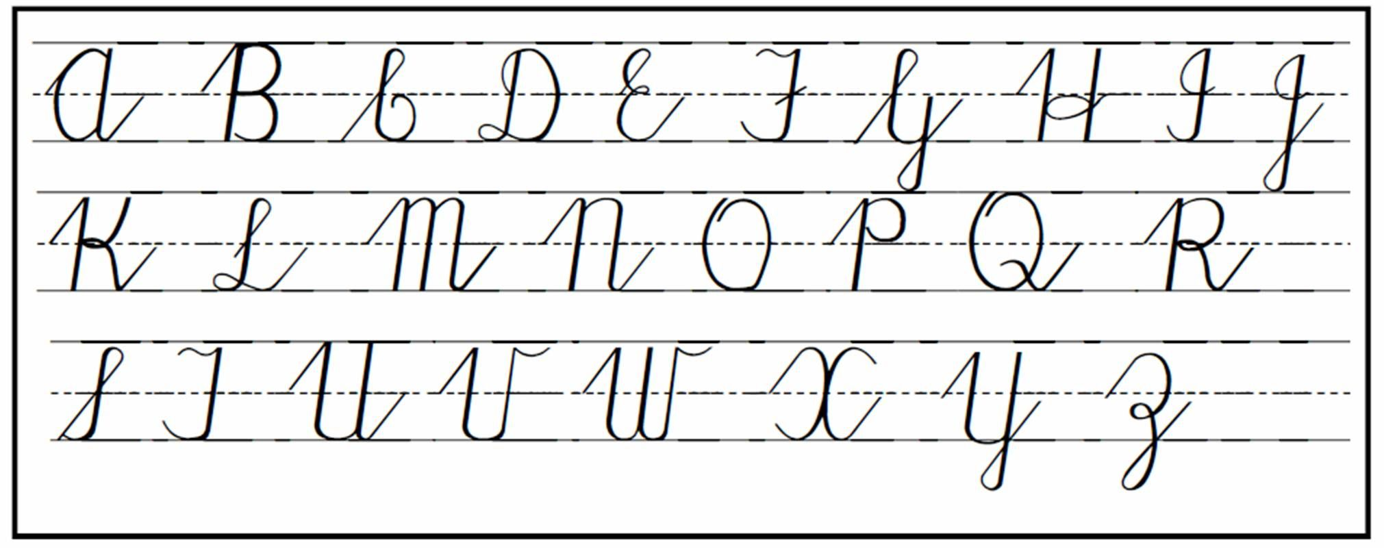 Cursive Handwriting Step By Step For Beginners Cursive Handwriting Cursive Writing Cursive Chart [ 802 x 2021 Pixel ]