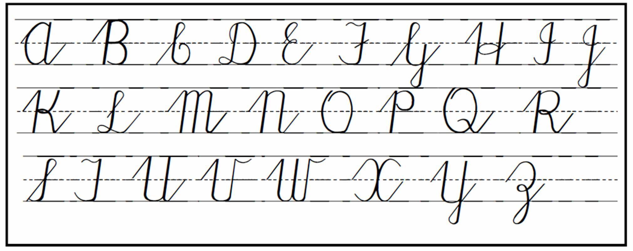 Cursive Handwriting More Tips