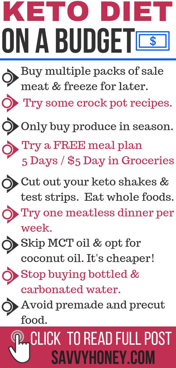 10 Weisen, deine ketogene Diät auf einem Etat zu schaukeln   – Ketogenic Diet