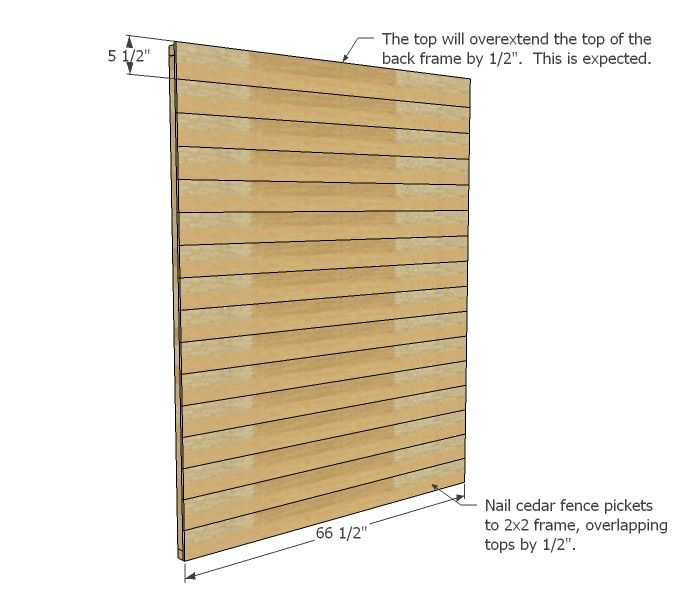 ana white build a small cedar fence picket storage shed free and easy diy