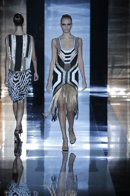 Gucci Spring 2012 Art Deco Inspired Dresses Fashion Inspired Dress Spring Fashion