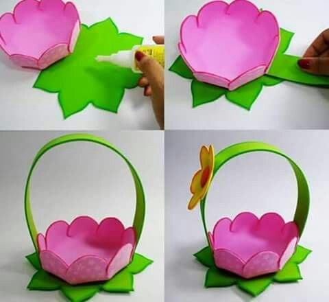 Pin By Magda Seweryn On Ideas Easter Crafts Flower Crafts Crafts