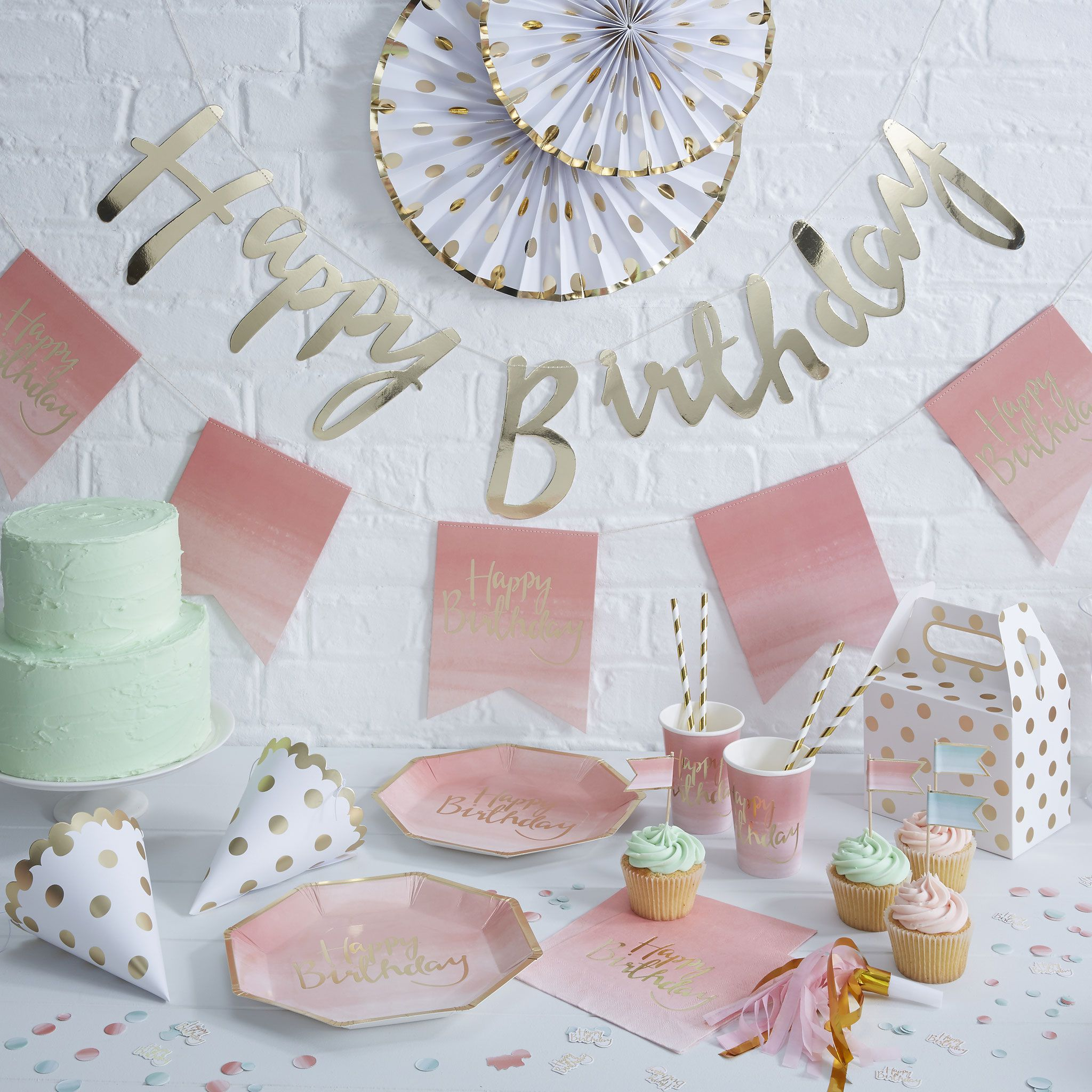 decoration pastel pour decoration baby shower fete anniversaire