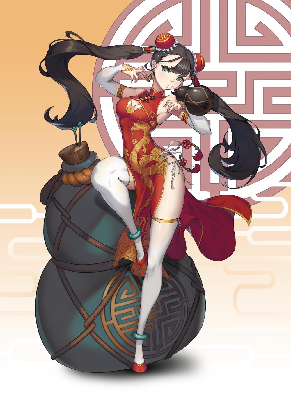 ArtStation Kung Fu girl, junhee choi в 2020 г