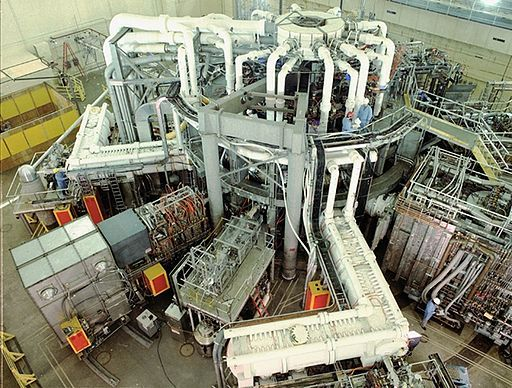 The Russian Tokomak reactor
