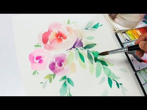 Level 4 ] How To : Watercolour Painting Tutorial for Beginners ...