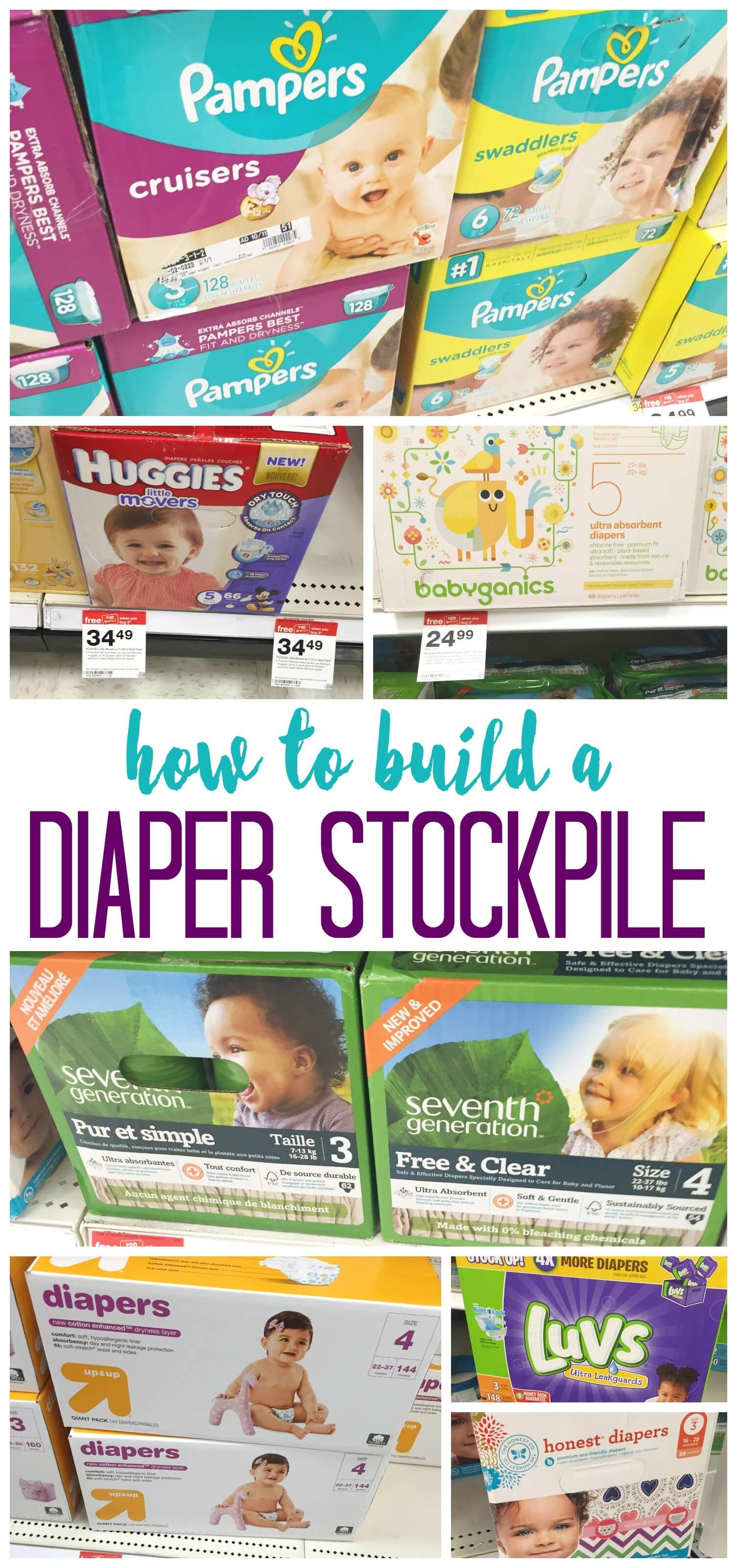 How To Build A Diaper Stockpile Diaper Stockpile Baby Coupons