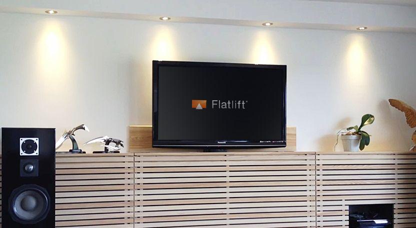 TV-Hebesystem Pop-Up Economy TV-Lift TV Hebesystem – Flatlift TV ...