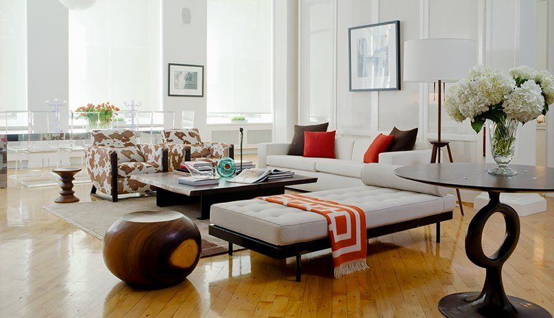 Idee Per Interni Moderni : Soggiorni contemporanei u idee e stile per un soggiorno