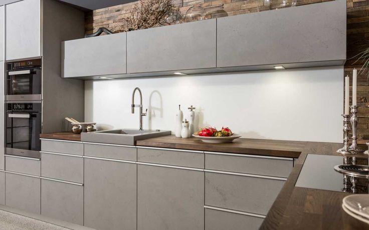 Küchen Fries, Küche, Kitchen, Beton, Betonoptik, Moderne Küche