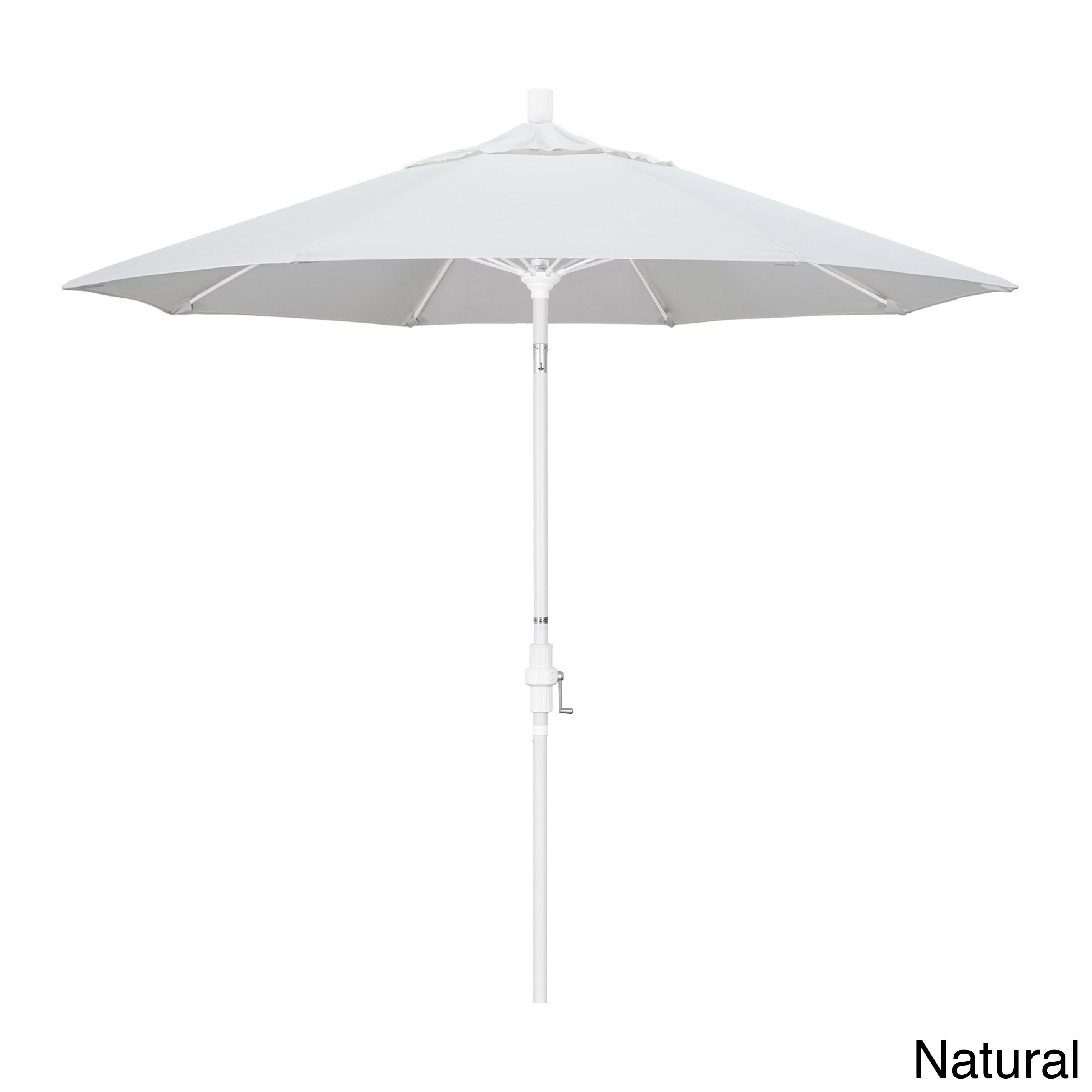 California Umbrella 9 Rd Aluminum Fiberglass Rib Market Umb