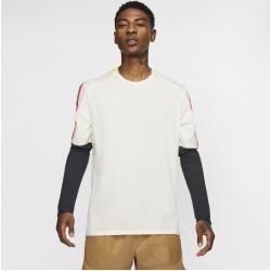 Photo of Nike Langarm-Laufoberteil für Herren – Cream Nike