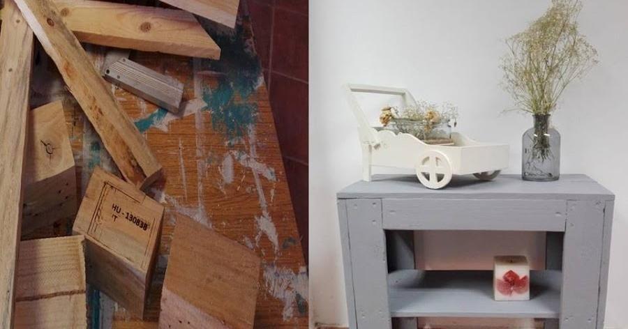 Un proyecto DIY que combina lo práctico con el reciclaje