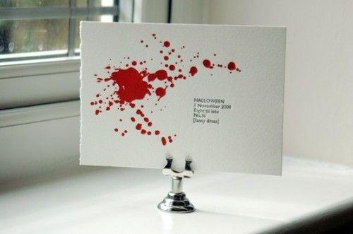 Blutige Einladung