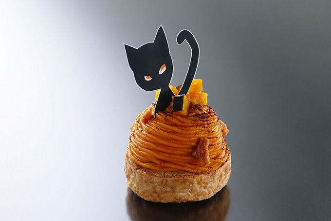 Halloween limited cake from Henri Charpentier - was decorated with black cat, 2 dishes launch of pumpkin Dzukushi | News - Fashion Press