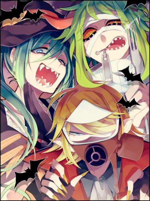 Resultado de imagem para vocaloid halloween