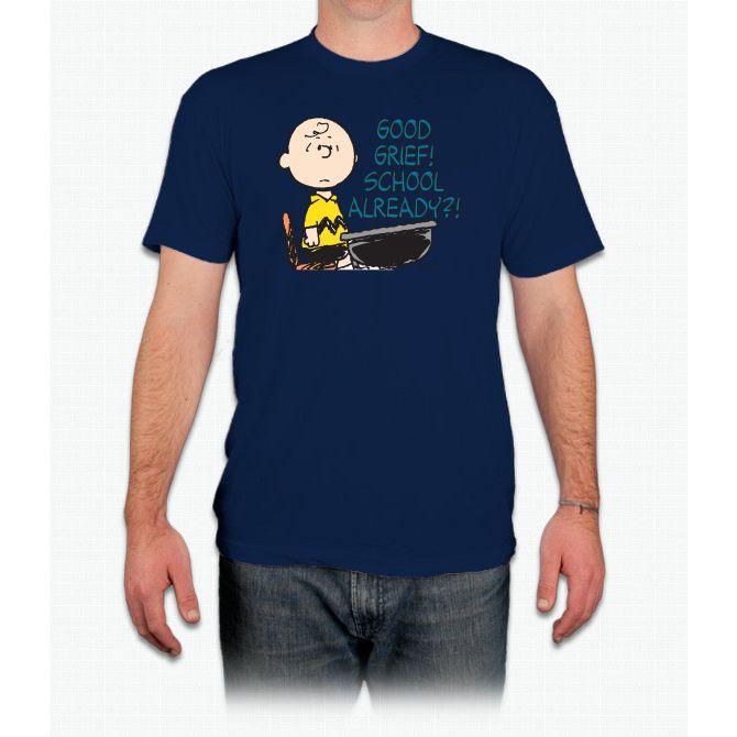 Charlie Brown: School Already? Snoopy - Men T-Shirt