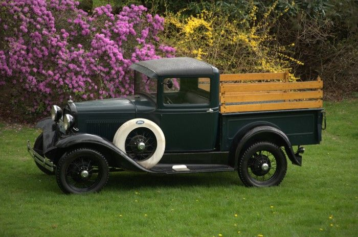 1931 Ford A model long bed pickup  Adrenaline Capsules